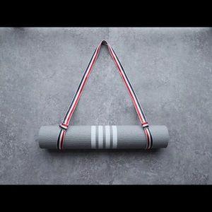 THOM BROWNE Logo-stripe foam yoga mat